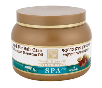 Health & Beauty SPA Mask For Hair Care With Argan Oil From Morocco Маска для волос 250 мл