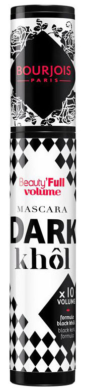 BOURJOIS 385010 MASCARA BEAUTY FULL DARK KHOL тушь Объемная №10 Черная 45340
