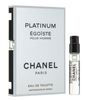CHANEL EGOIST PLATINUM men (Пробник) 2ml Туалетная вода